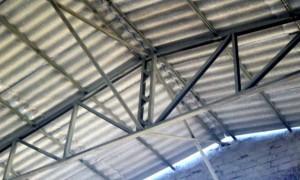 Telhado estrutura metálica preço