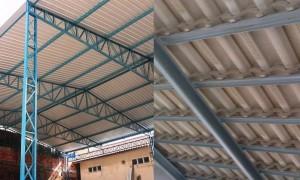 Preço de cobertura de estrutura metálica
