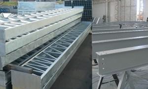 Pilar estrutura metálica