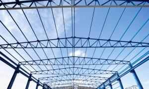 Galpão com estrutura metálica