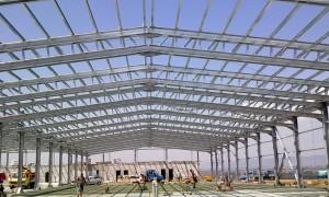 Barracão estrutura metalica