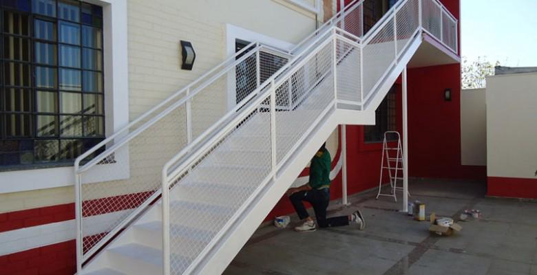 Fabrica de escada de ferro